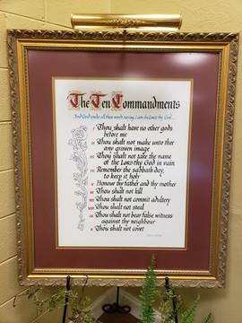 The Ten Comandments