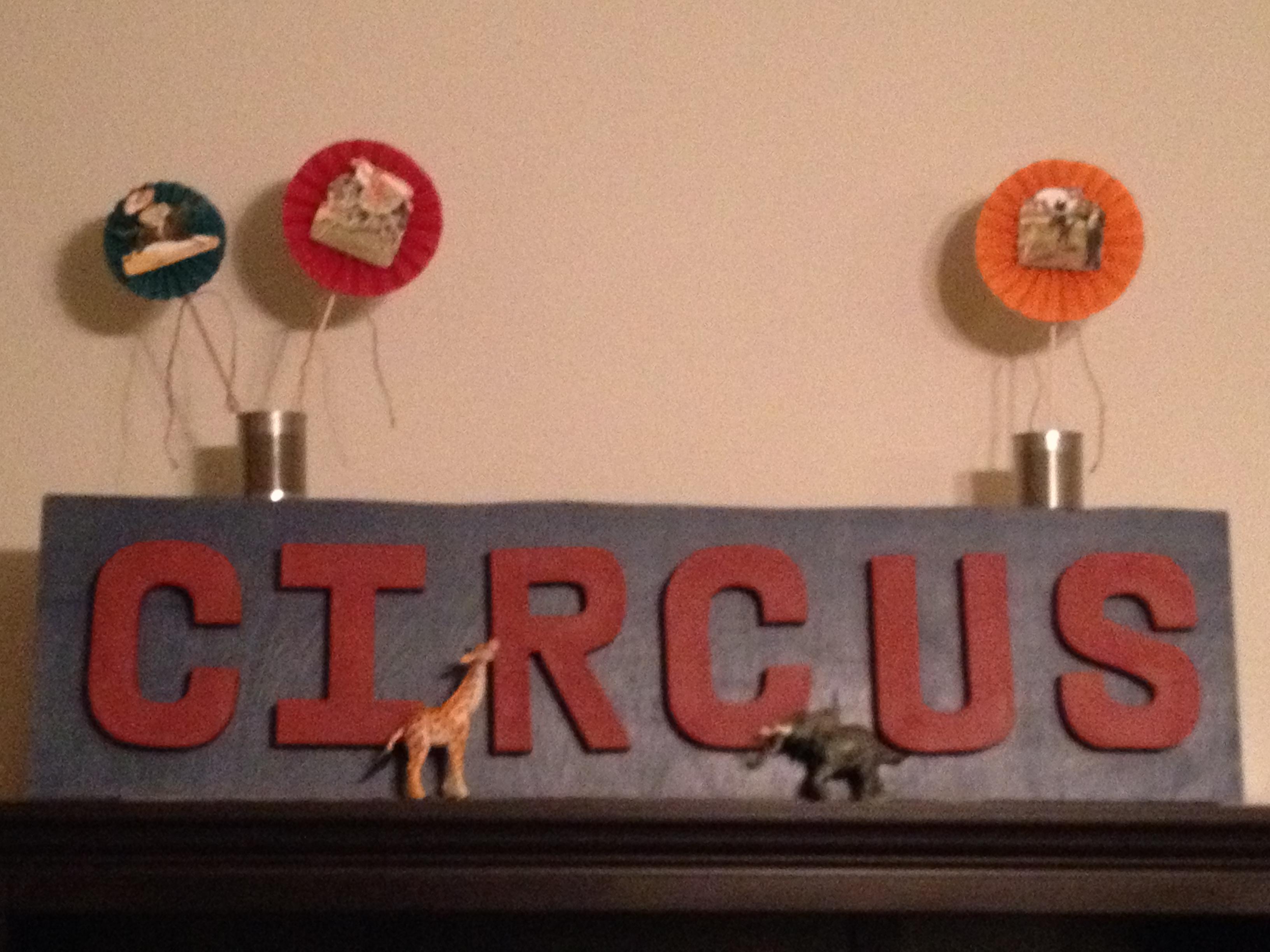 Customized Circus Signs