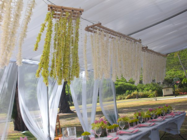 Long and Square chandeliers