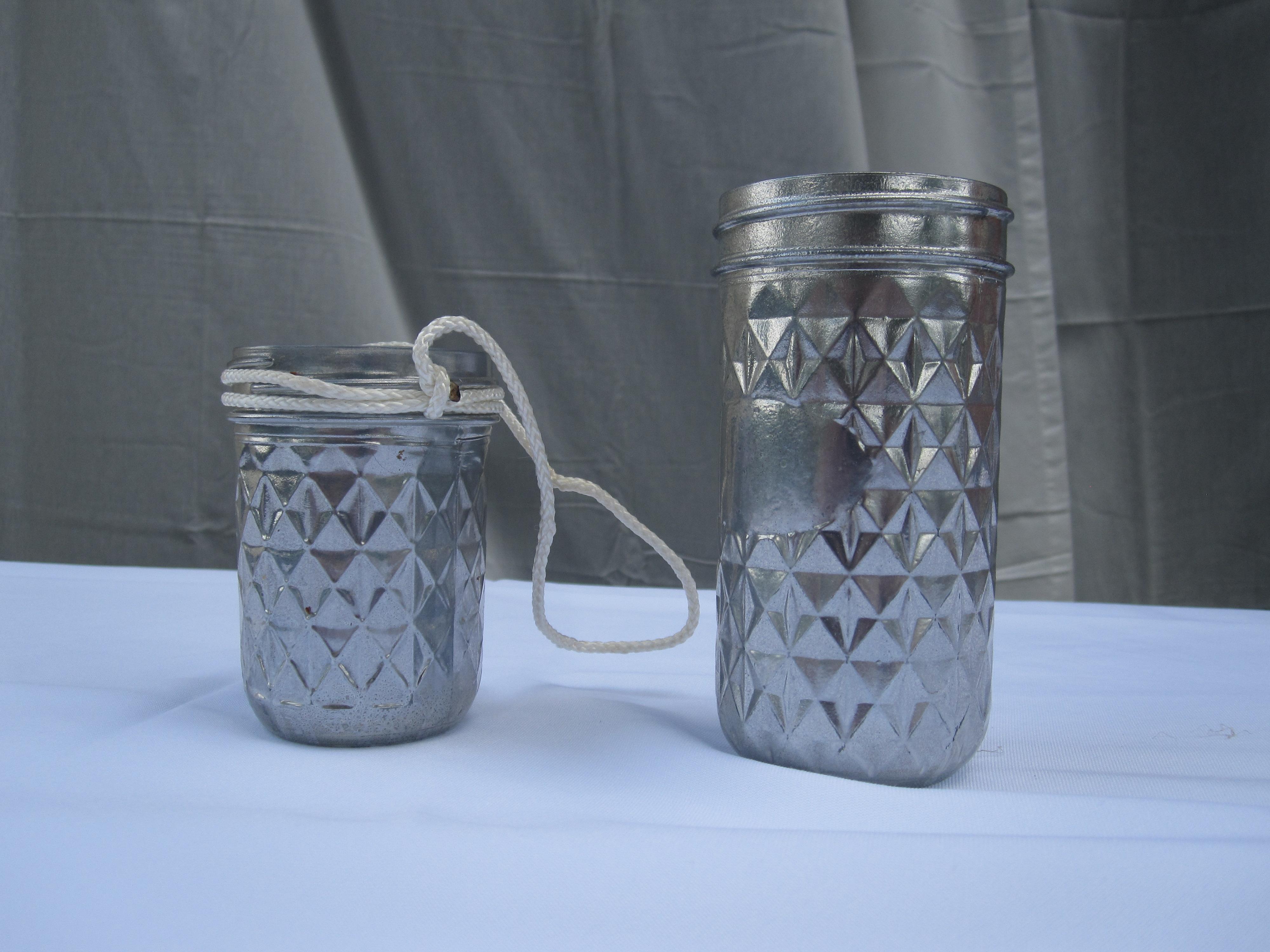 Silver jars