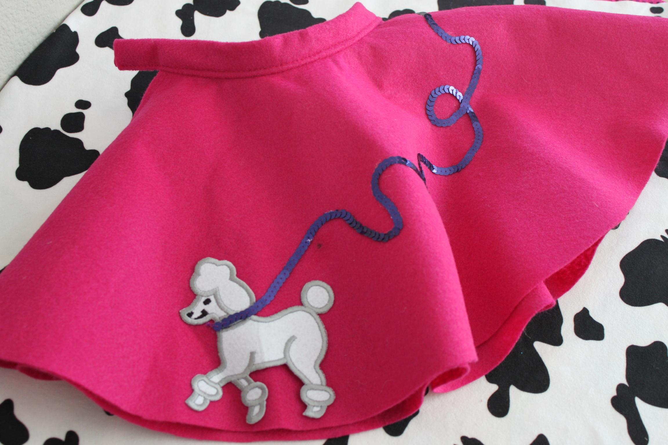 Custom poodle skirts