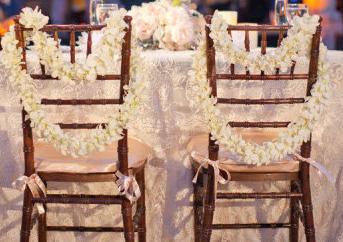 chair back leis