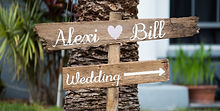 Rustic Wedding Sign Tampa