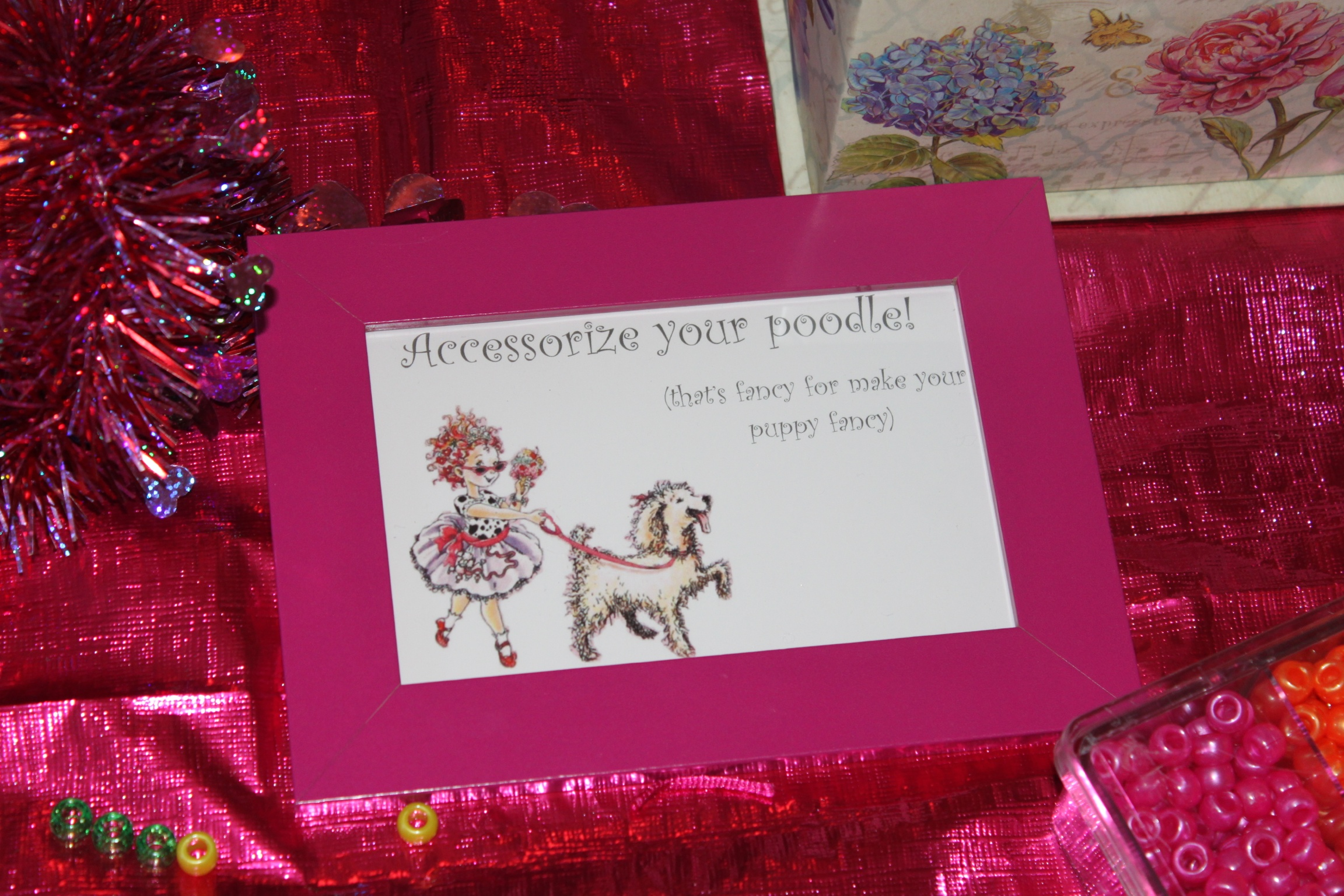 Personalize your poodle