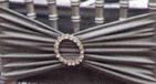 Stretch tie back with jewel
