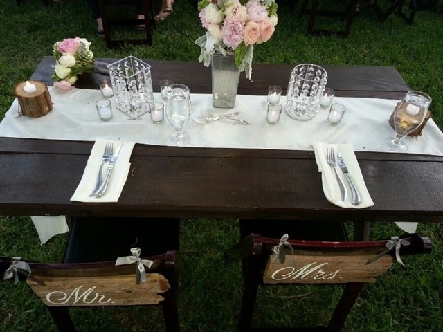 5' Sweetheart Table
