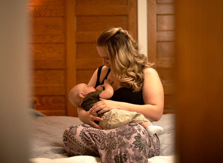 Empowering Mothers Through  Breastfeeding Portrait Sessions