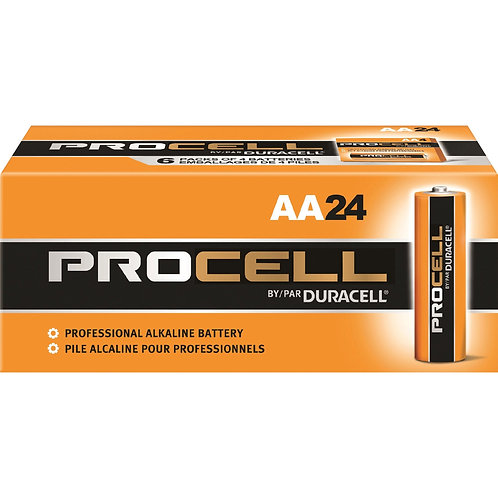 AA Duracell Procell Batteries -24