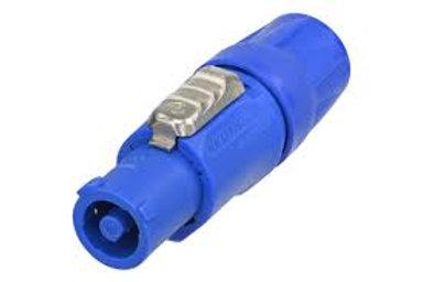 Neutrik Powercon Cable Mount Blue