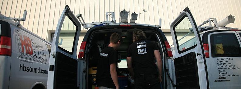 HB Sound & Light professionals