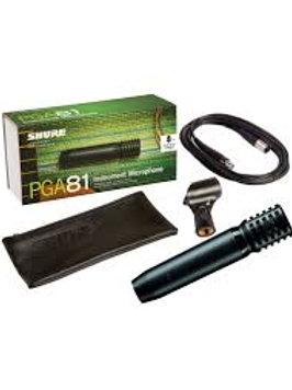 Shure PGA81-XLR