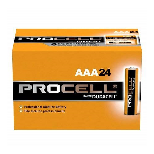 AAA Duracell Procell Batteries -24