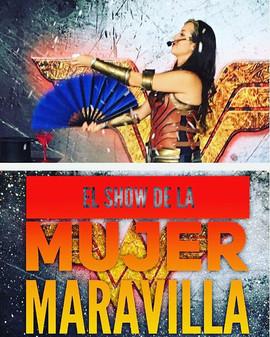 La Maga Keysha Show Mujer Maravilla