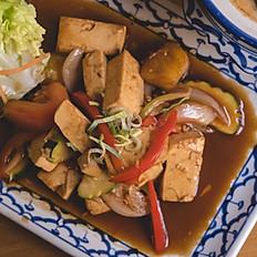 Tofu sauté à la sauce Tamarin