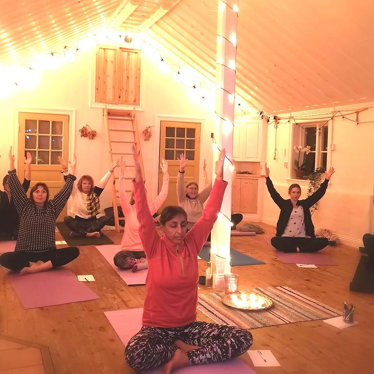 Yoga fortsättningskurs
