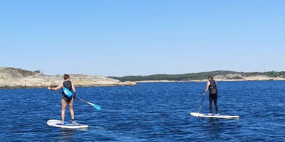 Lär dig paddla SUP - Grundkurs i Havstensund!