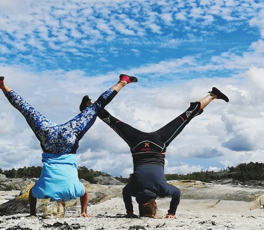 Yoga på stranden - Dansande krigaren.jpg