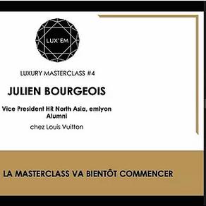 Luxury Masterclass #4 - jeudi 22 avril 2021
