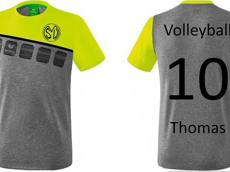 Neue Trikots für den SVM - Sektion Volleyball