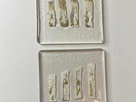 Pewter Foil Coasters