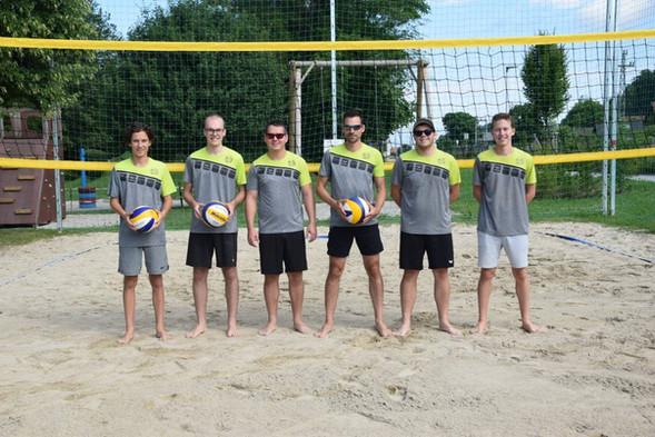 Gruppenfoto vom 3. Spieltag in der Beach.Liga.OÖ