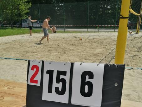 Zweite Niederlage beim zweiten Spiel in der Beach.Liga.OÖ