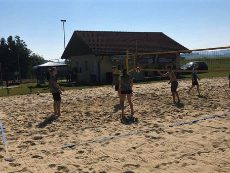 2. Platz beim Volleyballturnier in Roßbach