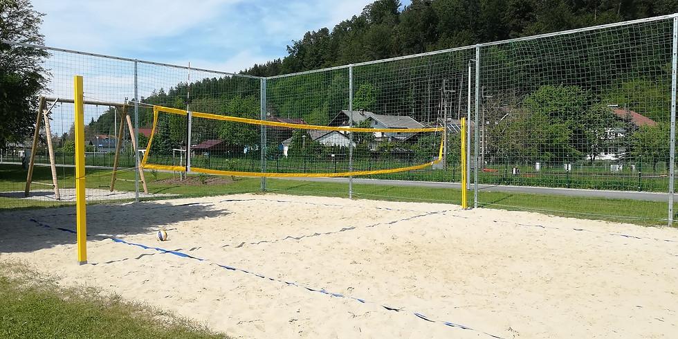 1. Spiel der Beach.Liga.OÖ