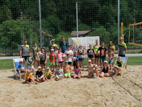 Kinderferienprogramm der Sektion Volleyball