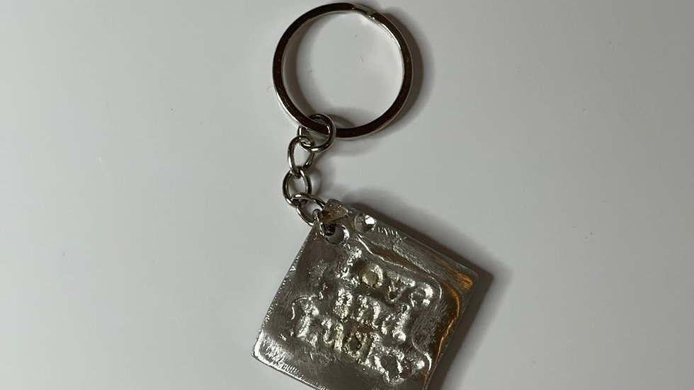Love and lucky key ring
