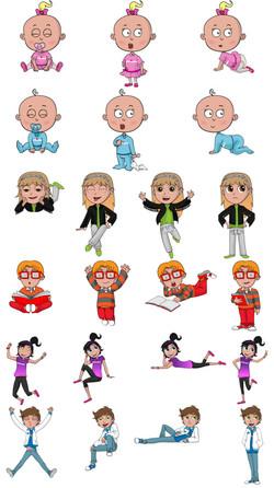 personajes tapioca