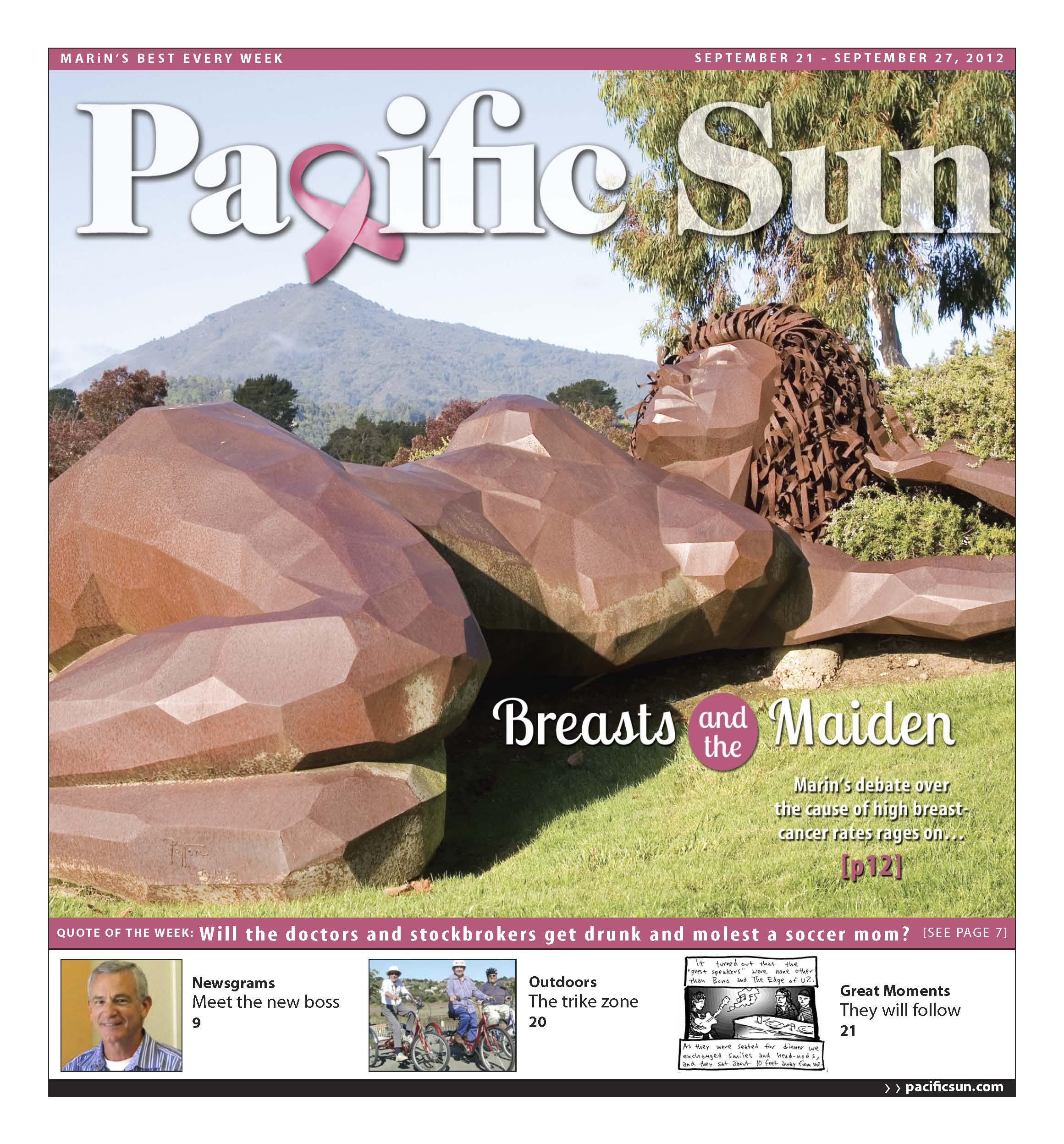 Cover for Breast Cancer Issue