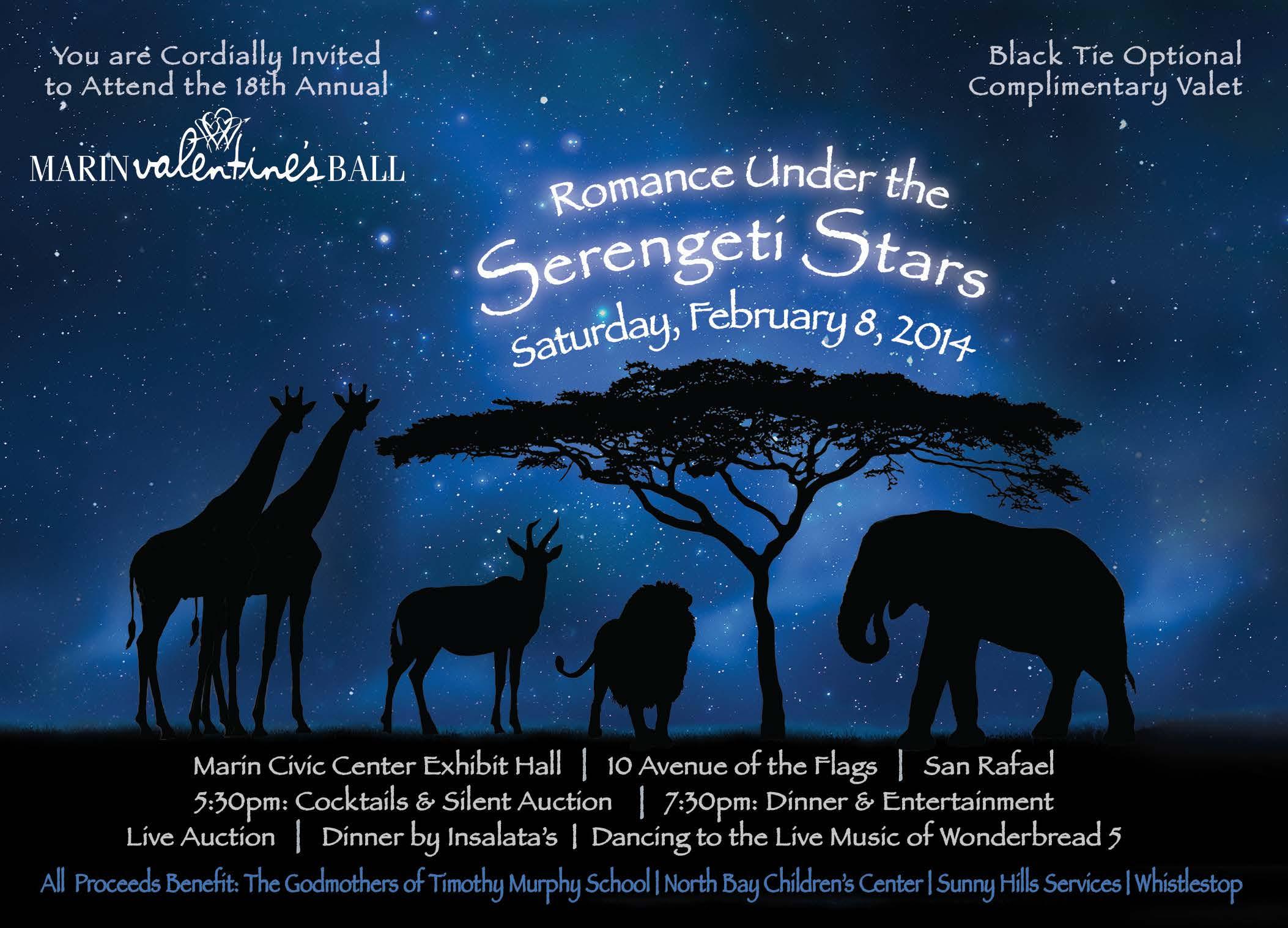 Marin Valentine's Ball Invitation
