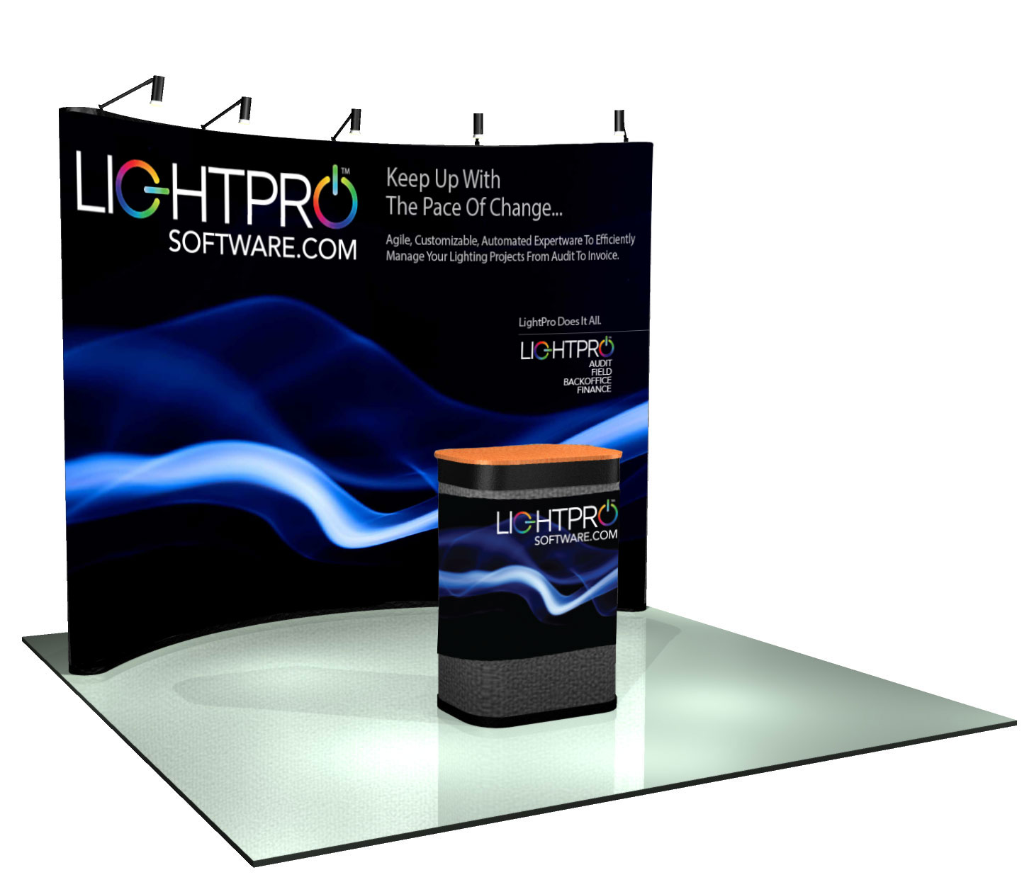 LightPro Exhibit Booth