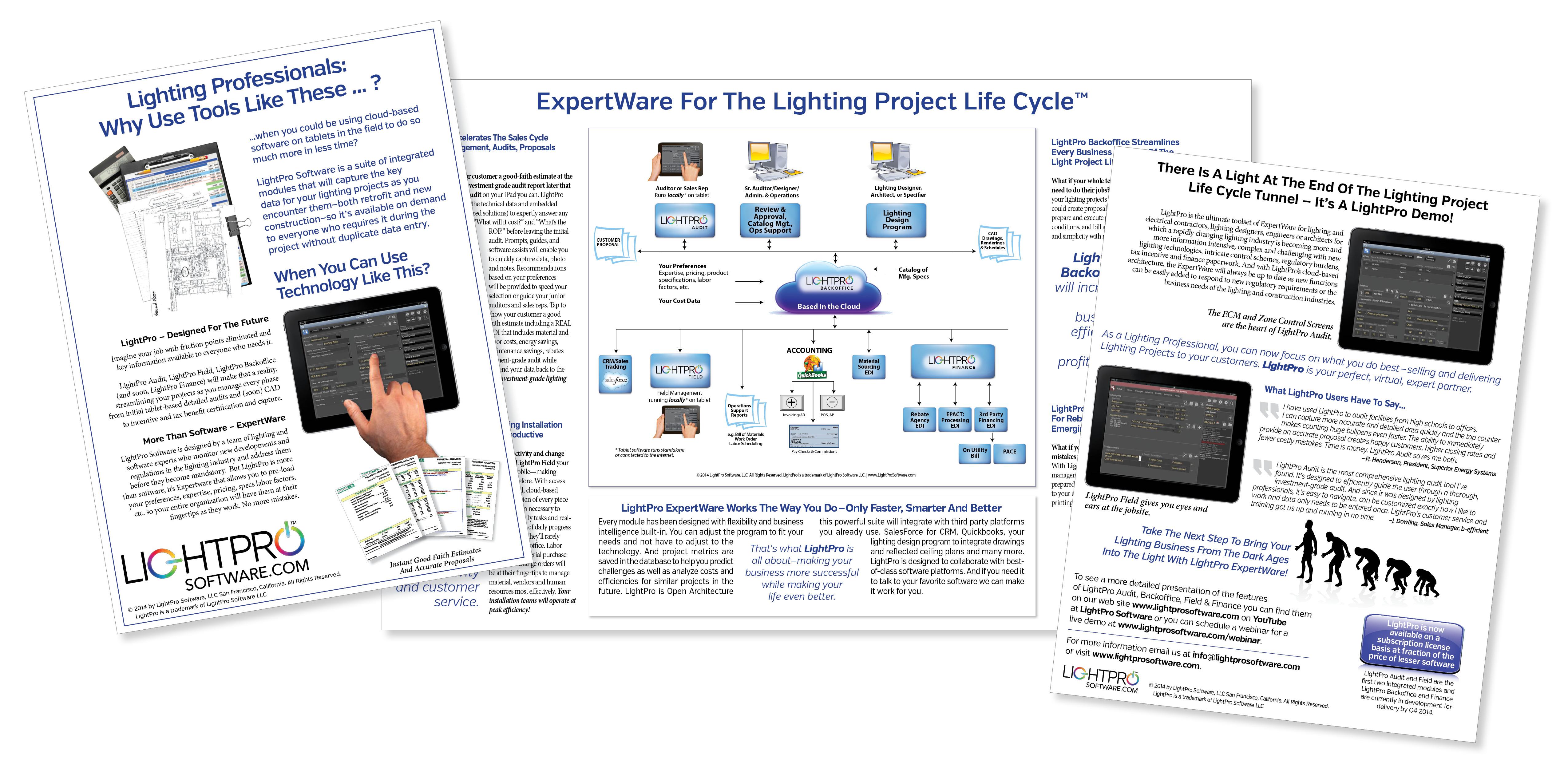 LightPro Software Brochure
