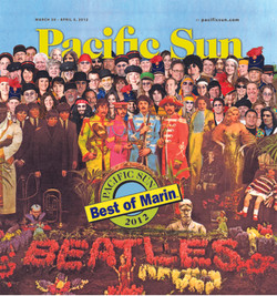 Pacific Sun 2012 Best of Marin Cover
