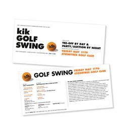 kik Golf Swing Invitation