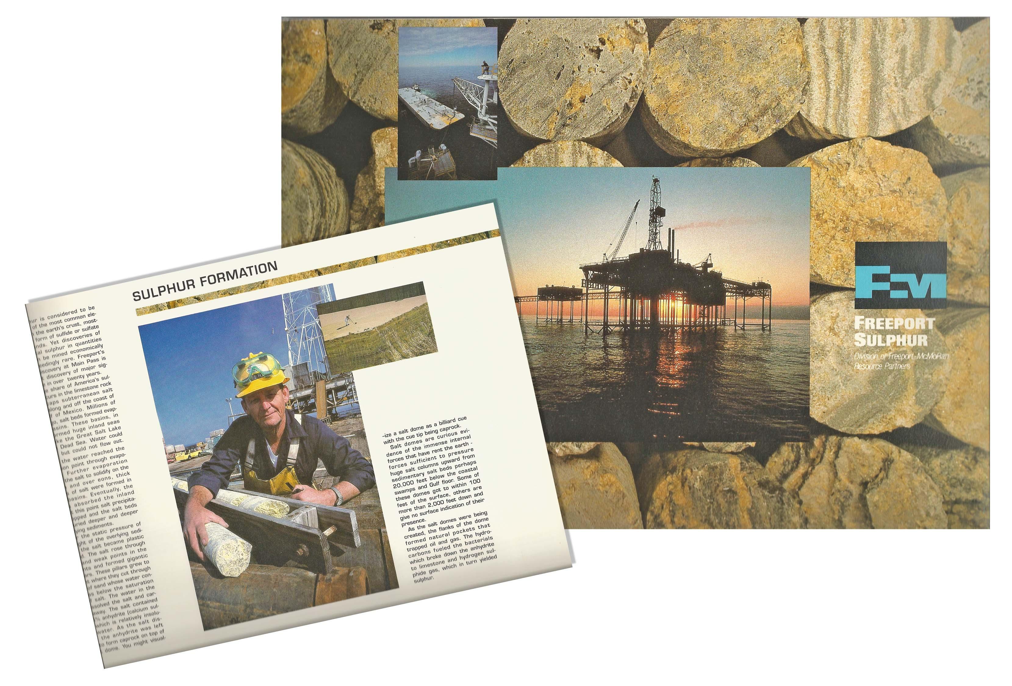 Brochure for Freeport McMoran