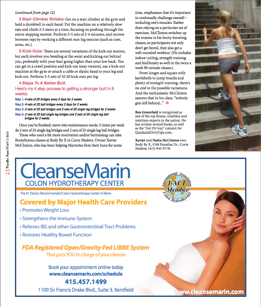 Beauty Health + Fitness Fall 2012