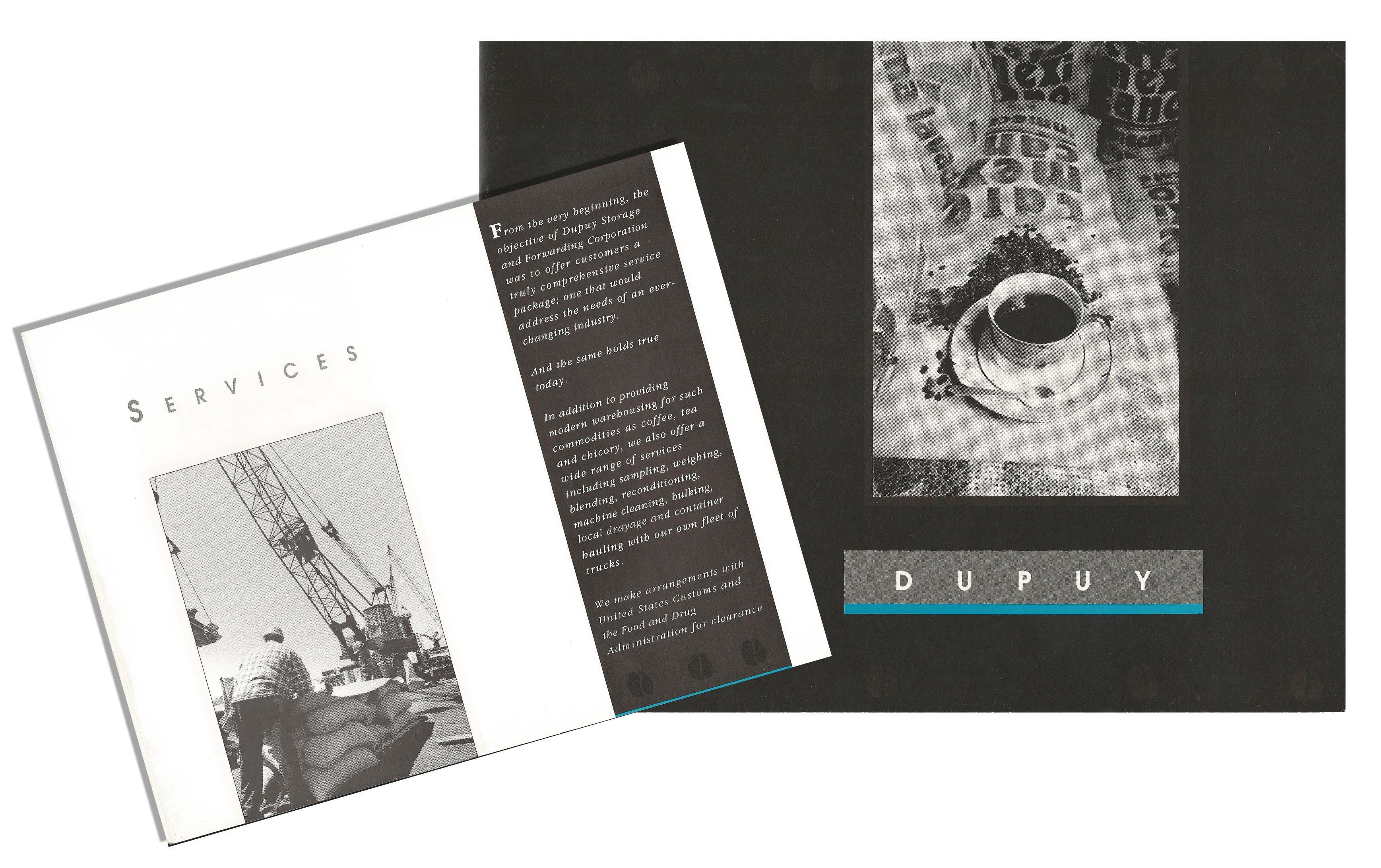 Brochure for Coffee Company