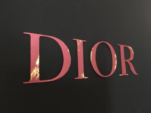 Création d'objets pour Dior