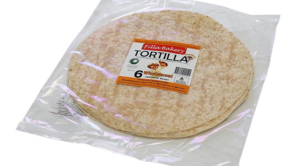 Wholemeal Long Life Tortilla
