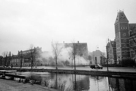 Fog in Amsterdam