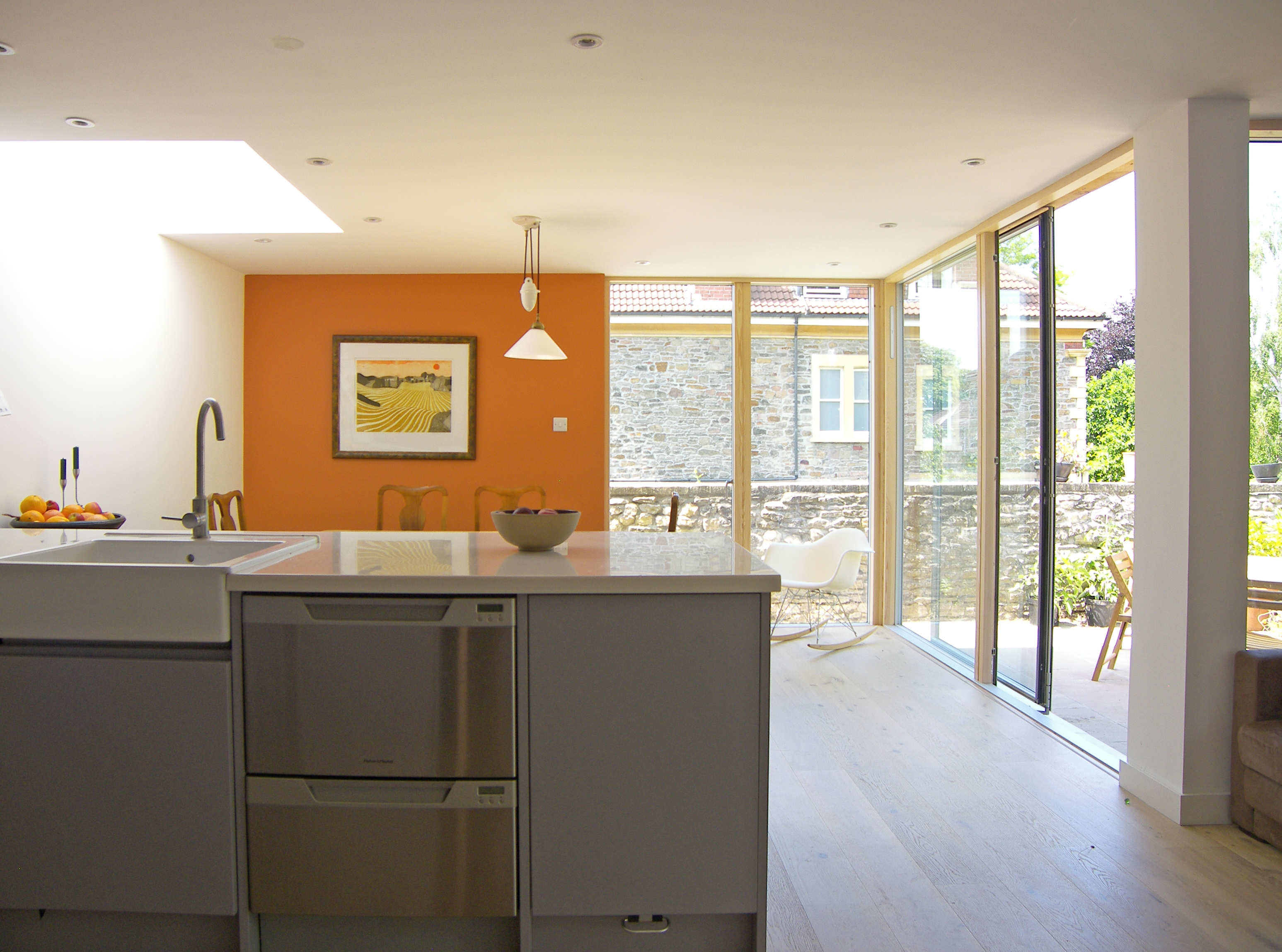 08_Eco extension to modern town house in Bristol by DHVA