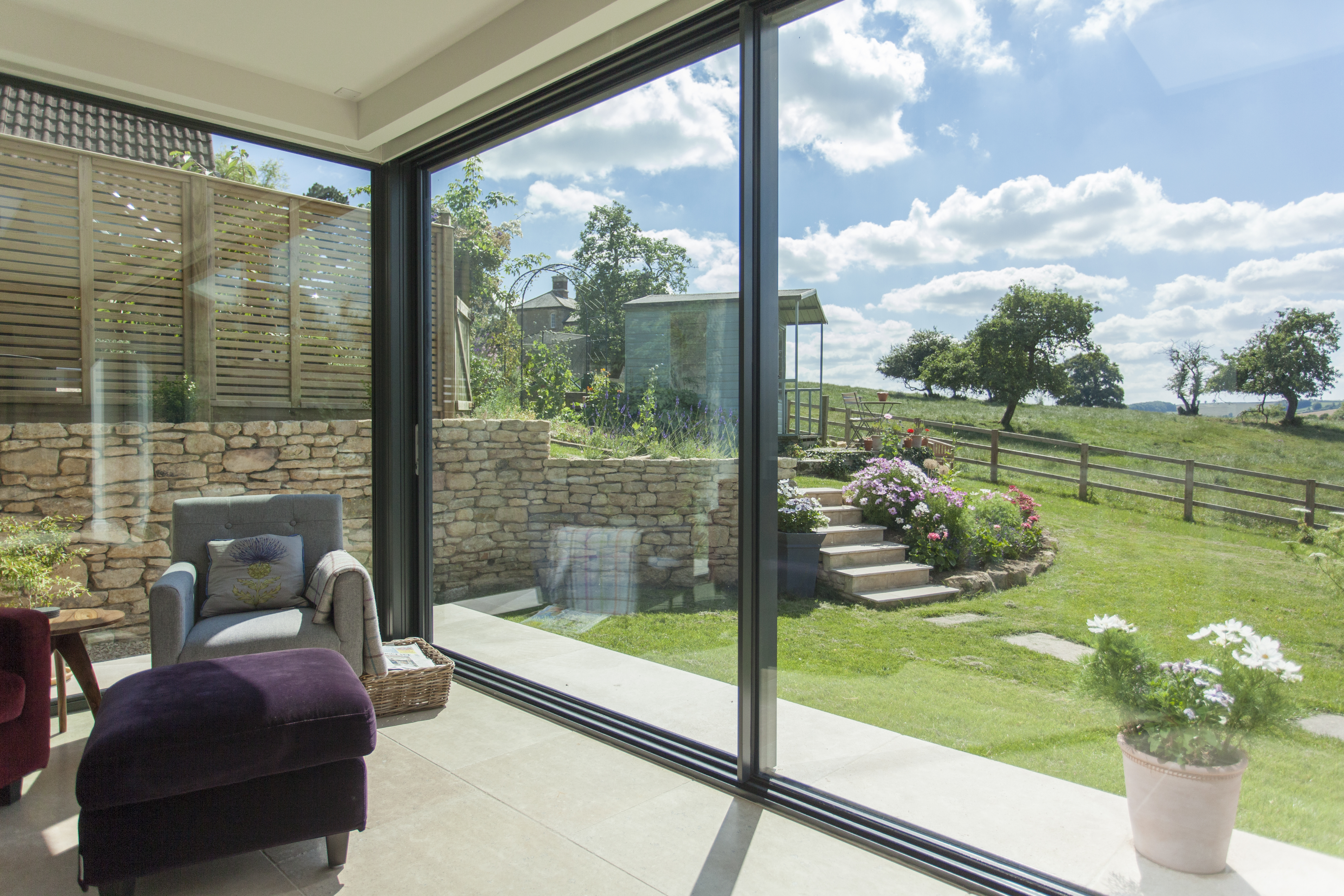DHVA Barn extension in Cotswolds