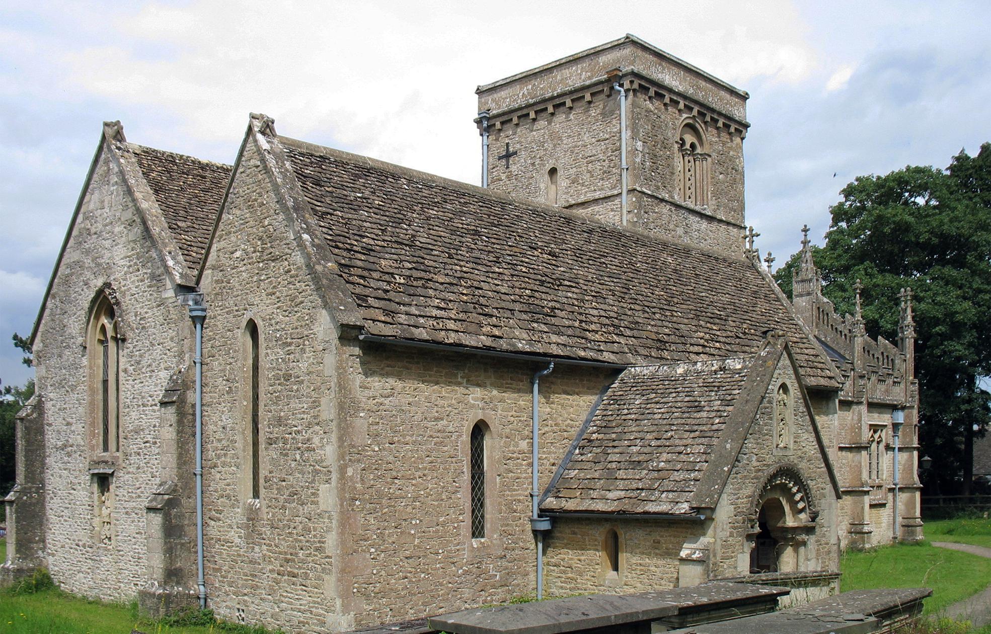 St Giles, Stanton St Quintin