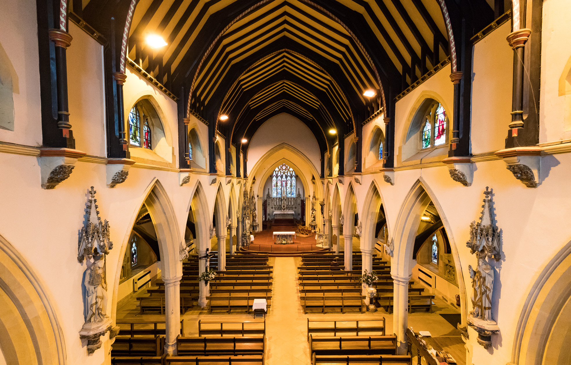 St Gregory's Interior