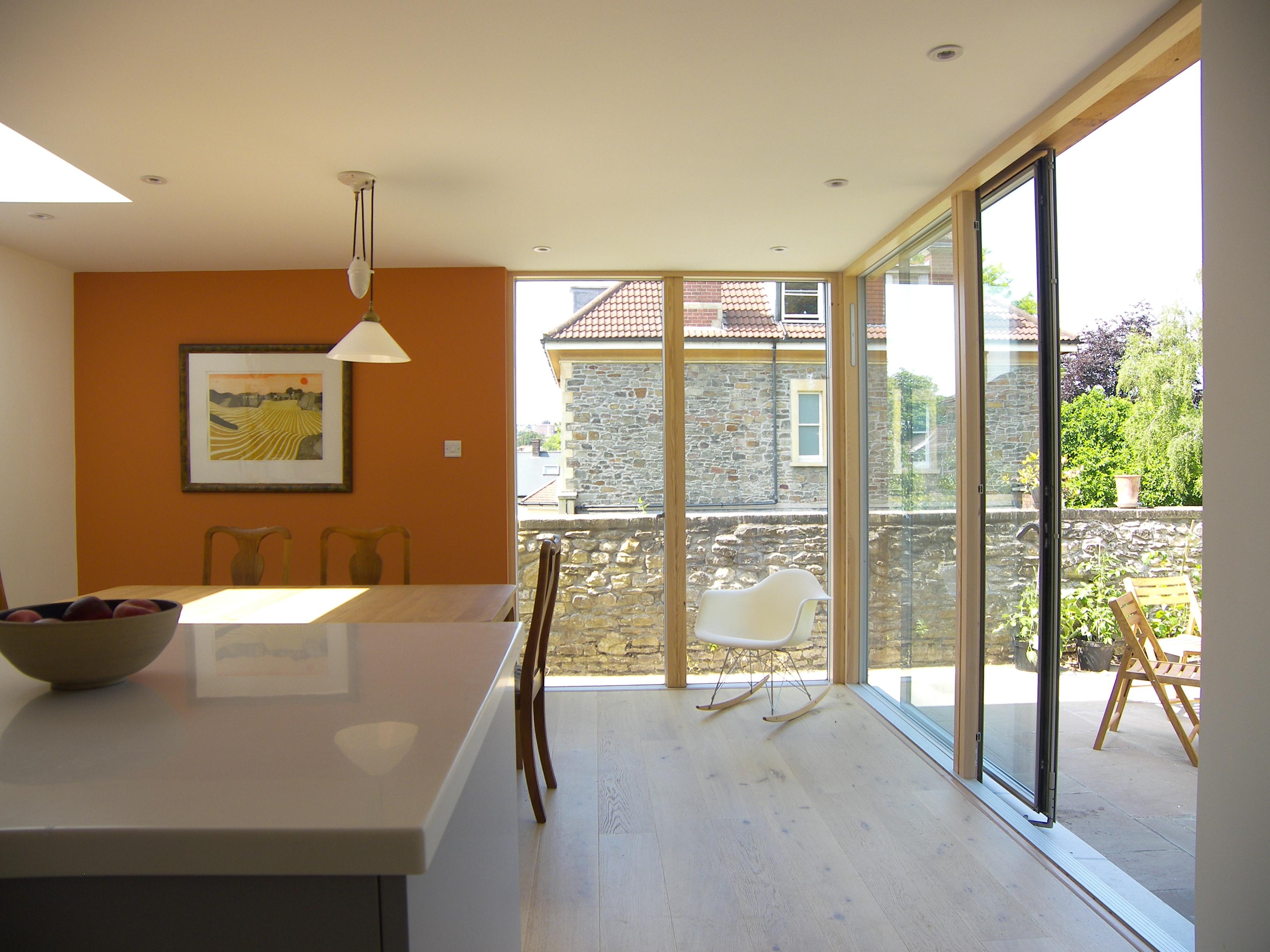 04_Eco extension to modern town house in Bristol by DHVA