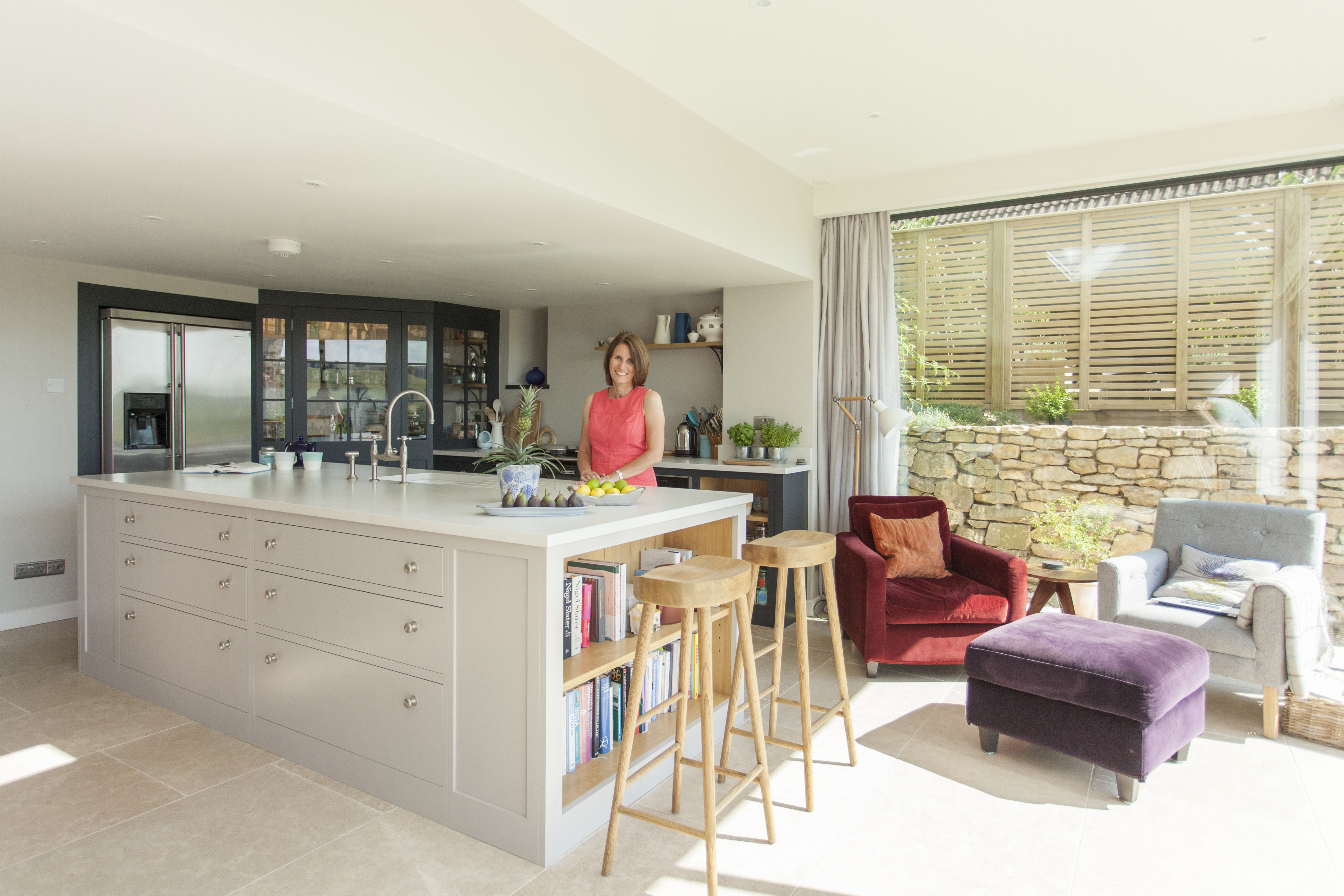DHVA Barn extension in Cotwolds Kitchen