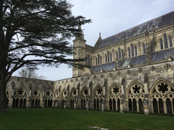 Salisbury Cathedral_cloisters_pic by DHV
